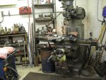 Drill press and tools