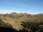 Barren hillsides
